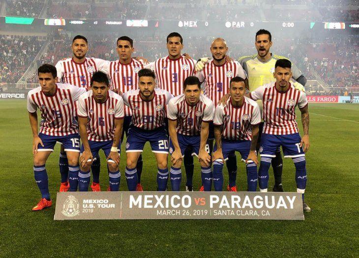 Antony Silva arrancó de titular el amistoso contra México.