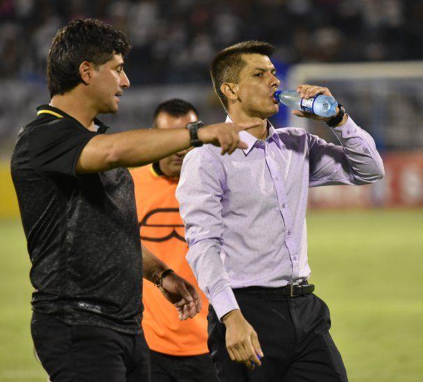 Gustavo Florentín (derecha) y Héctor Núñez