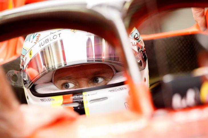 El piloto alemán de Ferrari