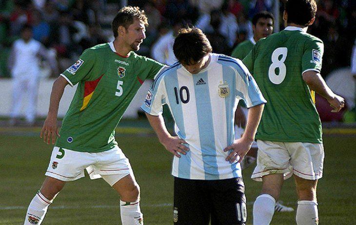 La goleada de Bolivia a la Argentina de Messi y Maradona cumple ya 10 años.