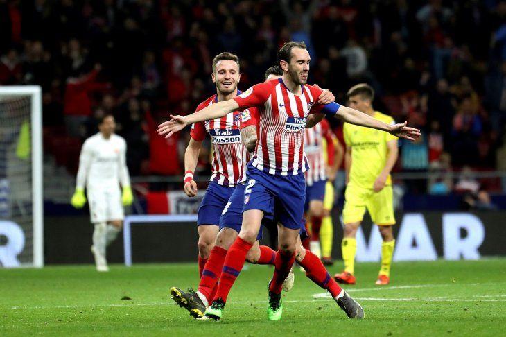 Atlético de Madrid ganó y sigue soñando.