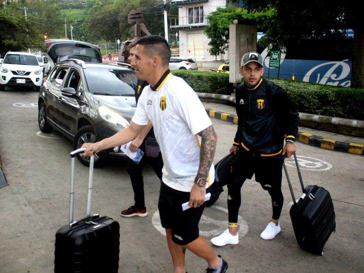 Guaraní arribó a Colombia con la intención de lograr el triunfo ante el Deportivo Cali.