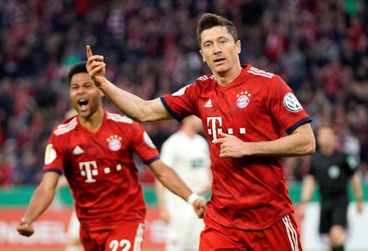 Bayern Múnich se anotó en las semifinales de la Copa de Alemania.