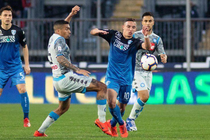 El Napoli cae en Empoli y se queda a 18 puntos del Juventus.