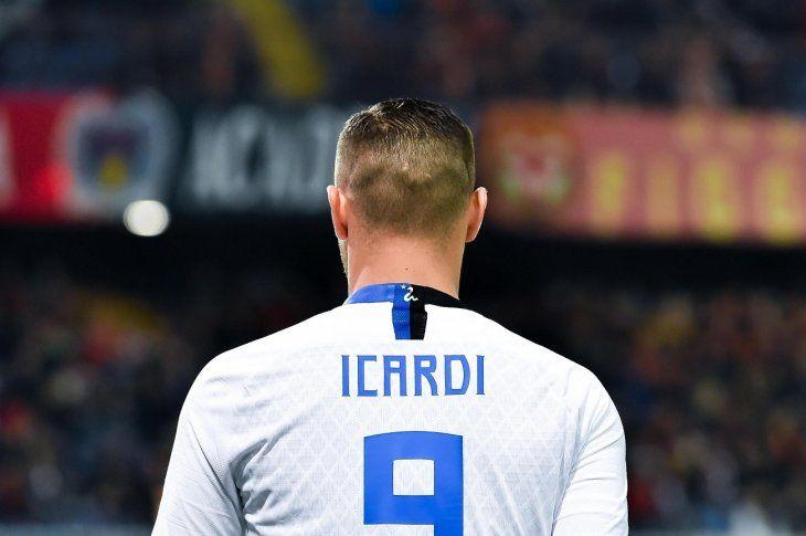 El argentino Mauro Icardi marcó uno de los goles del Inter.