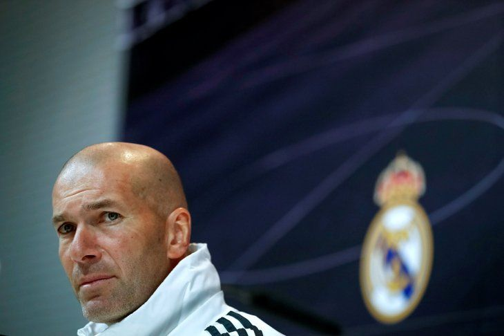 Zidane no tiene decididas las bajas de su plantel.