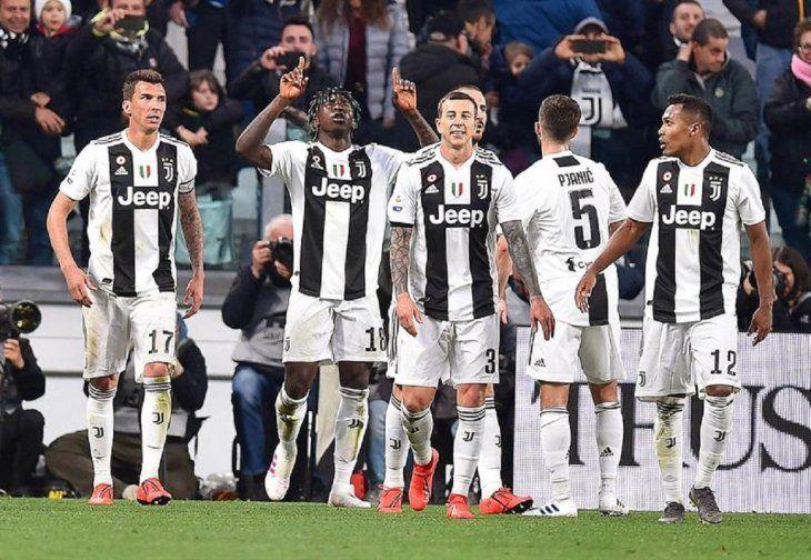 Kean hunde al Milan y acerca la fiesta Scudetto de Juventus.