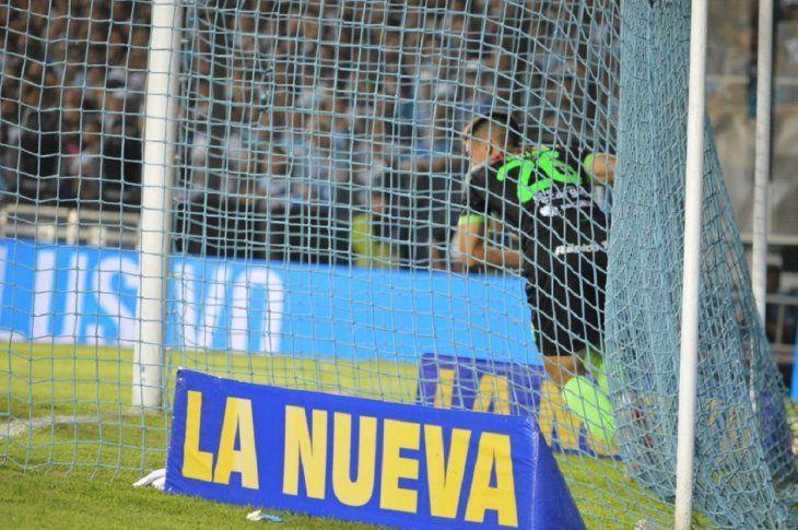 Matías Rojas marcó un gol este domingo ante Racing.