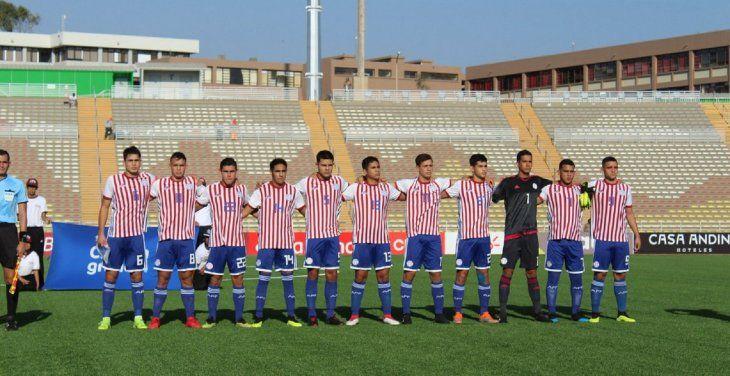 Selección Paraguaya Sub 17.