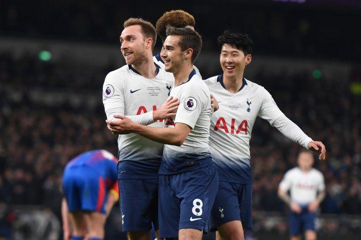 El encuentro será en el novísimo estadio del Tottenham.