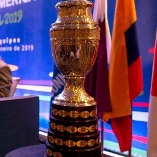 Trofeo de la Copa América.