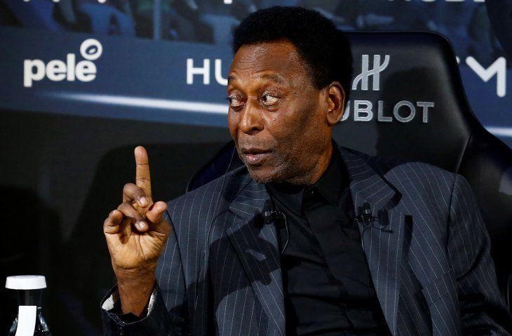 El último reporte del estado de salud de Pelé