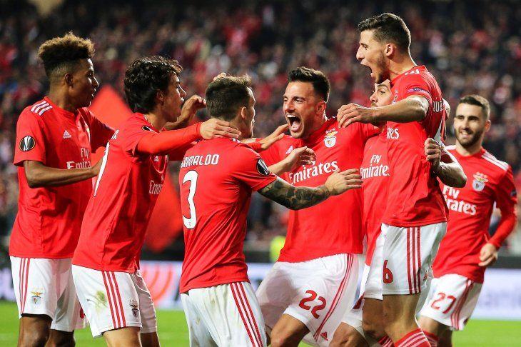 El cuadro luso dio un gran paso en la Europa League.