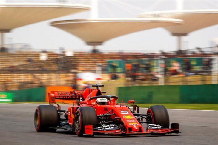 El piloto alemán de Fórmula Uno SebastianVettel