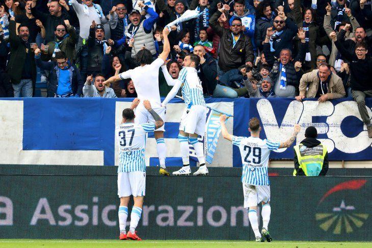 Spal se impuso 2-1 a Juventus.