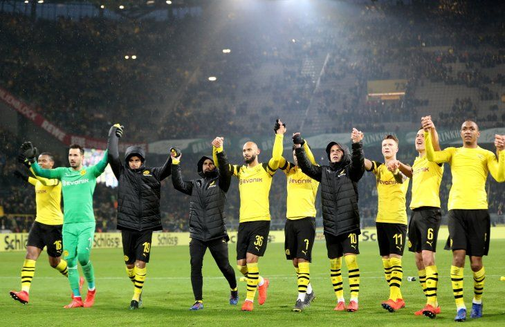 El Dortmund líder provisional en la Bundesliga