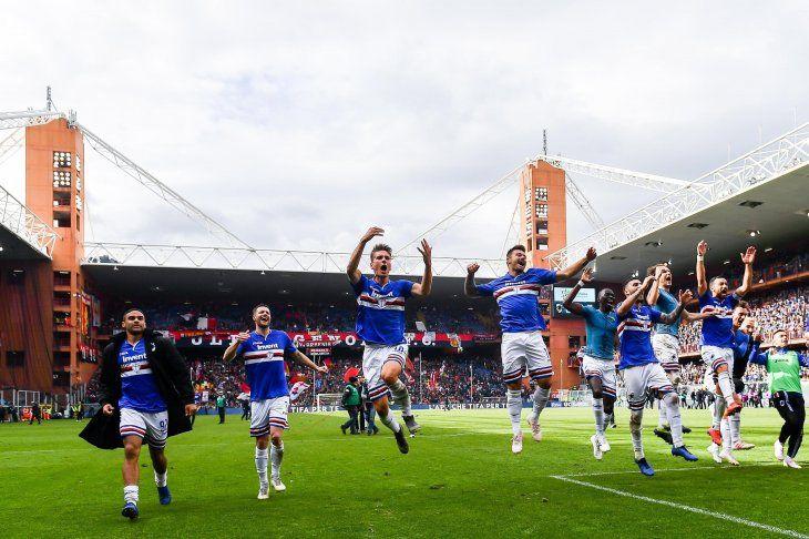Sampdoria gana el clásico ante el Genoa de Tonny Sanabria