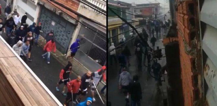Violentos enfrentamientos deja al menos 4 heridos.