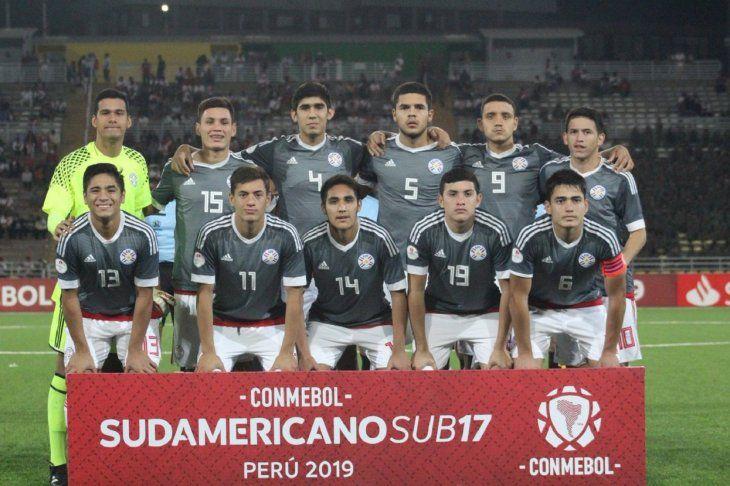 Paraguay clasificó al Mundial de Brasil Sub 17.