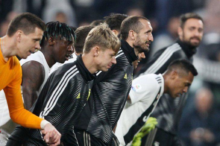 El italiano Giorgio Chiellini se perderá el juego contra el Ajax.
