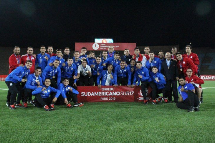 La Albirroja clasificó al Mundial Sub 17.