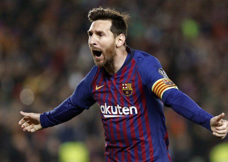 Lionel Messi fue la gran figura del Barcelona.