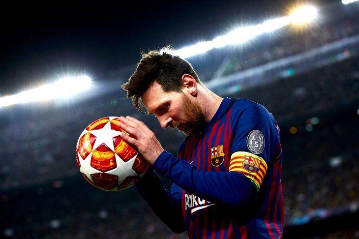 Lionel Messi le marcó dos goles al Manchester United.