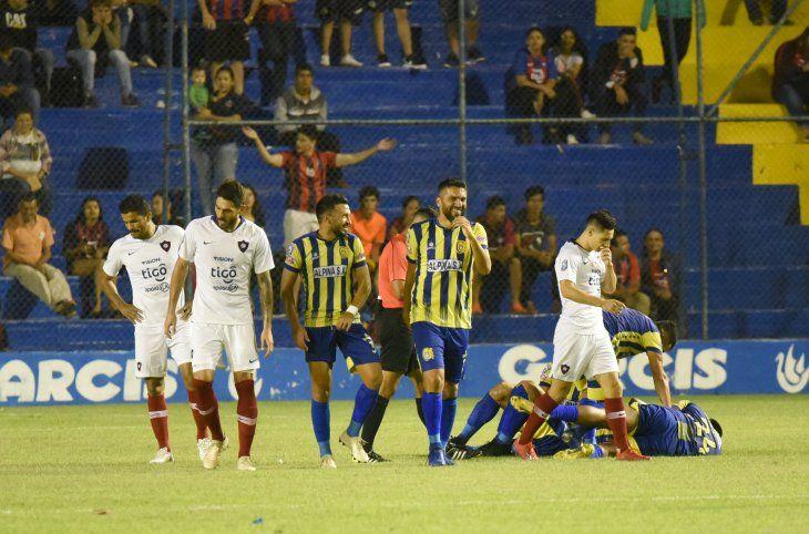 Cerro resignó puntos importantes en Capiatá.