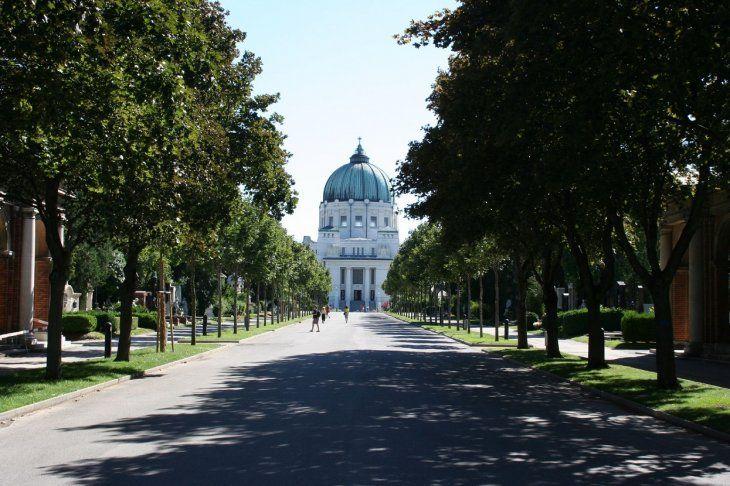 El Cementerio Central de Viena.