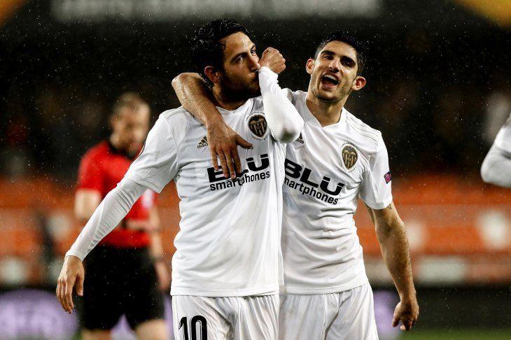 Valencia se metió en las semifinales.