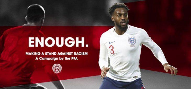 Los jugadores del fútbol inglés protestarán contra el racismo.