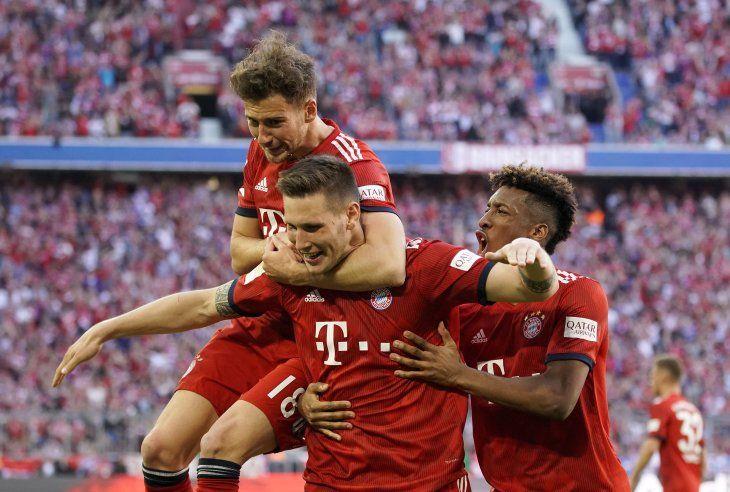 Bayern se impuso por la mínima al Bremen.