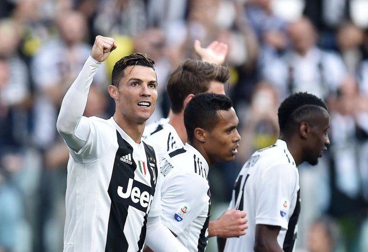 El Juventus gana el primer Scudetto de la era Cristiano Ronaldo.