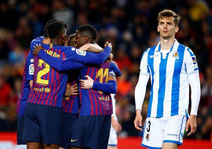 Barcelona ganó con lo justo este sábado.