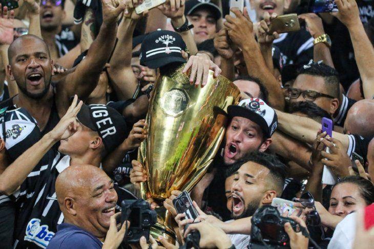 Corinthians se consagró campeón.