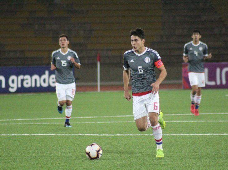 Líder. El juvenil de Cerro Porteño viene de capitanear la Selección Sub 15 y esta vez tuvo la voz de mando en la Sub 17.