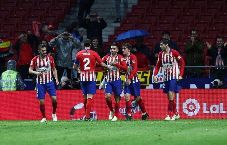 El Atlético de Madrid ganó con lo justo este miércoles.