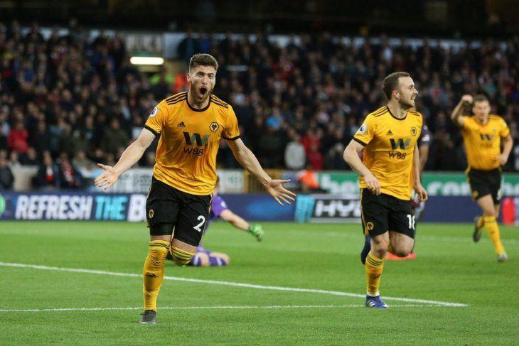 Wolves venció al Arsenal.