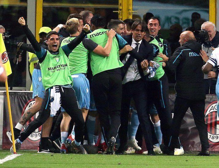 Lazio avanzó a la final de la Copa Italia.