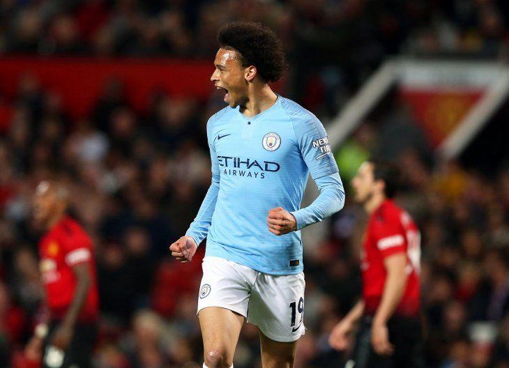 El Manchester City venció con claridad al United.