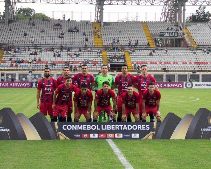 Cerro Porteño reaccionó tarde en Barinas.