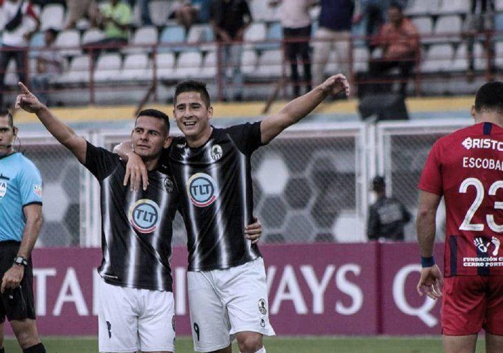 Zamora venció a Cerro Porteño en Venezuela.