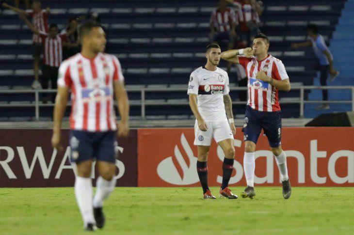 Junior vence a San Lorenzo y rompe racha de ocho partidos sin ganar.