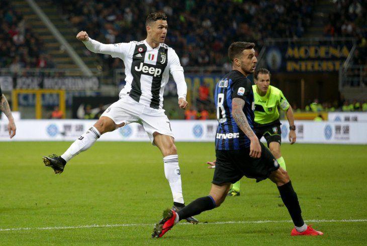 Cristiano Ronaldo empató el juego y marcó un récord.