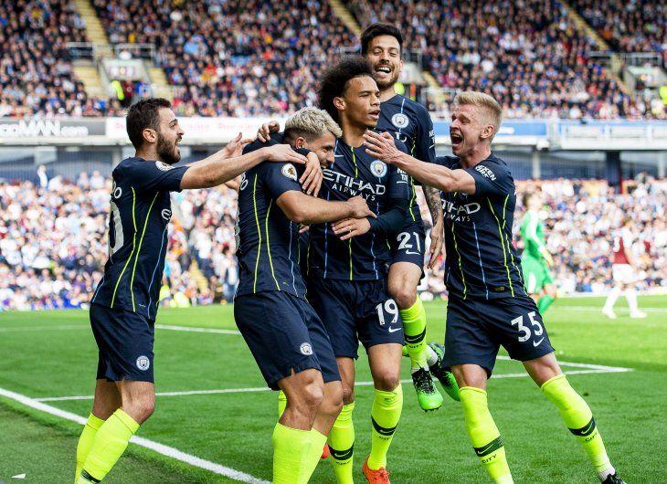 Agüero marcó el único tanto del City.