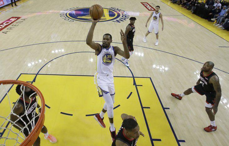 Durant es el hombre de los Warriors de Golden State.