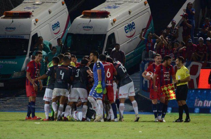 El insólito gol fantasma sancionado en la Liga de Paraguay