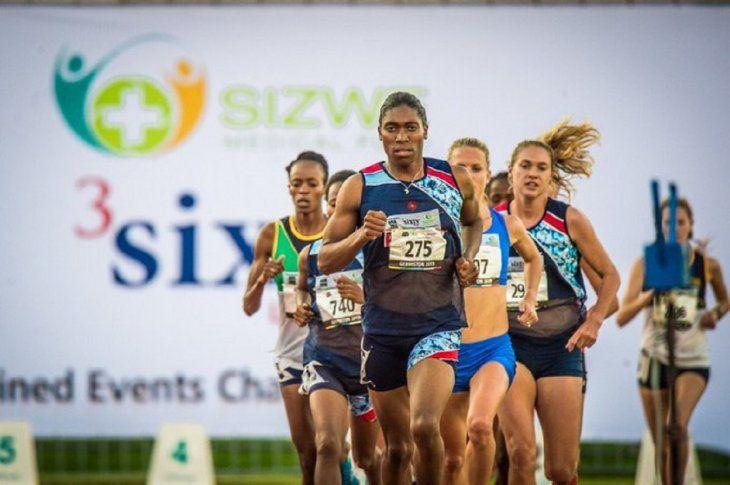 Semenya triunfó este viernes en Doha.