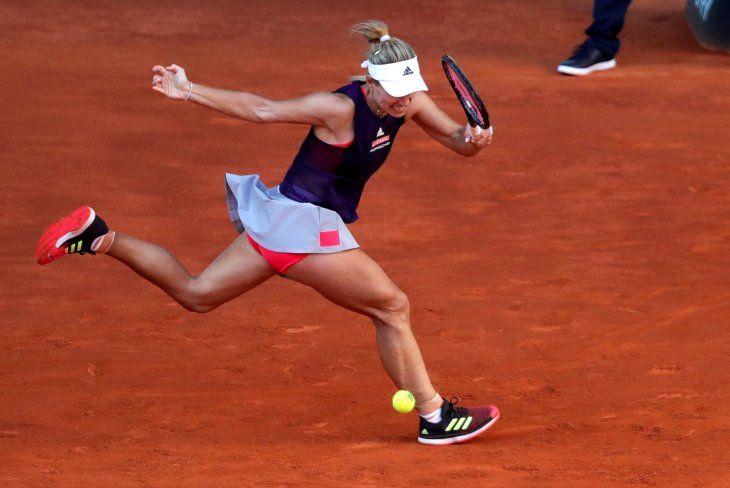 Kerber se retira del Mutua Madrid Open por una lesión.