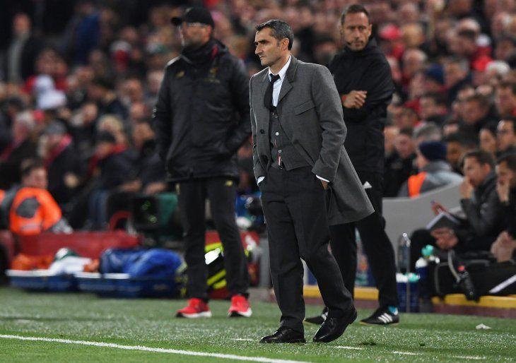 Valverde: Cuando ganan 4-0 no hay que poner excusas